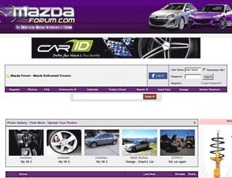 Thumbshot of Mazdaforum.com