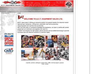 actequipment.com screenshot