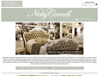 nickycornell.com screenshot