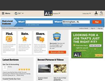 businessfinder.al.com screenshot