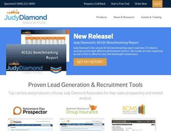 judydiamond.com screenshot