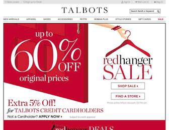 Thumbshot of Talbots.com