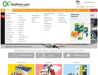 Thumbshot of Gotprint.com