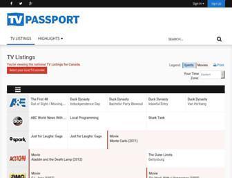 Thumbshot of Tvpassport.com