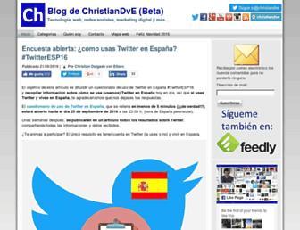 christiandve.com screenshot
