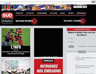Thumbshot of Sudradio.fr