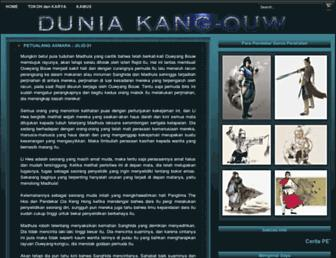 dunia-kangouw.blogspot.com screenshot
