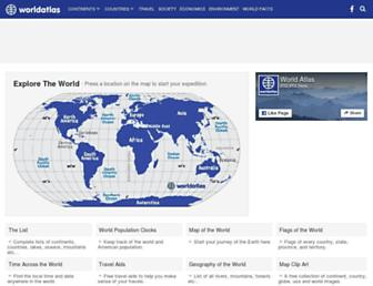 Thumbshot of Worldatlas.com