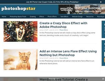 photoshopstar.com screenshot