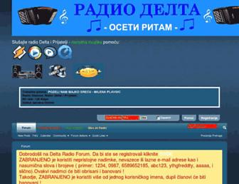 radio-delta.org screenshot
