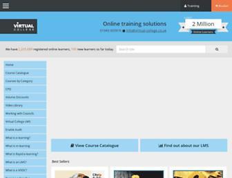 virtual-college.co.uk screenshot