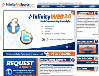Thumbshot of Infinityprosports.com