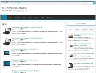 delldriversoft.blogspot.com screenshot