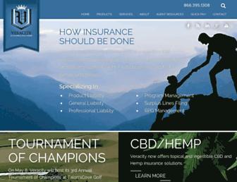 veracityinsurance.com screenshot