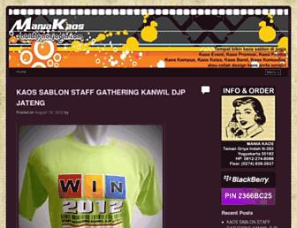 sablonkaosjogja.com screenshot