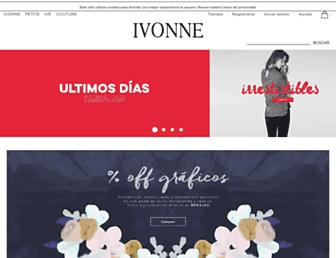 ivonne.com screenshot