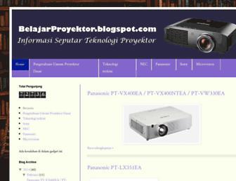 belajarproyektor.blogspot.com screenshot