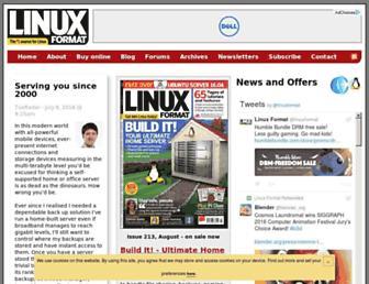 linuxformat.com screenshot