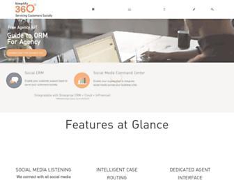 simplify360.com screenshot