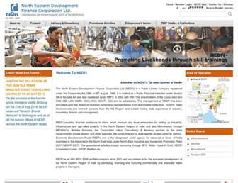 nedfi.com screenshot