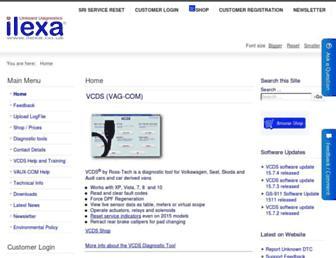 ilexa.co.uk screenshot