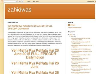 zahidwas.blogspot.com screenshot