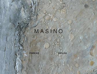 Main page screenshot of alexandremasino.ca