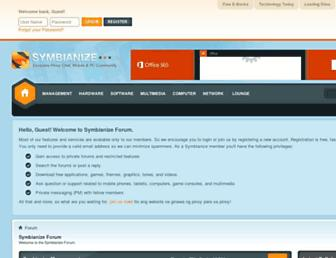 symbianize.com screenshot