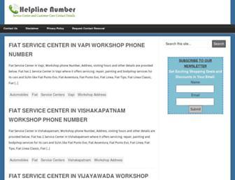 helplinenumber.net screenshot