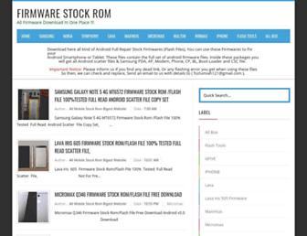 firmware-stock-rom.blogspot.com screenshot