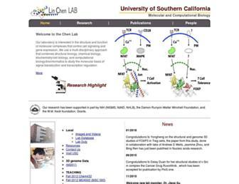 structure.usc.edu screenshot