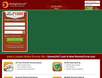 Thumbshot of Rummycircle.com