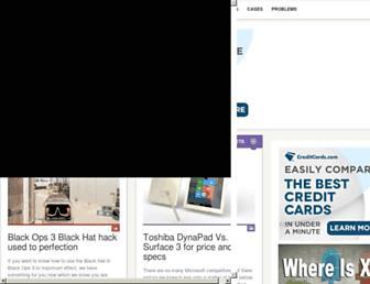 Main page screenshot of product-reviews.net