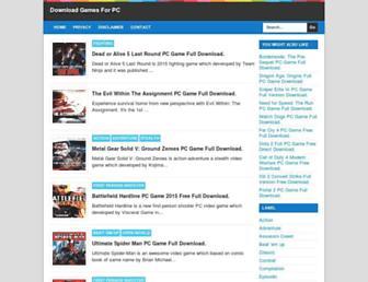 runpcgames.blogspot.com screenshot