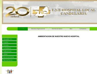 hospitalcandelaria.gov.co screenshot