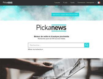 Thumbshot of Pickanews.com