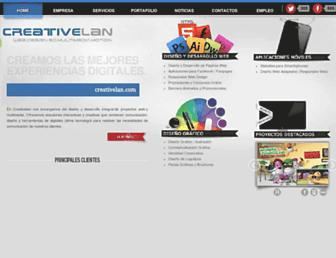 creativelan.com screenshot