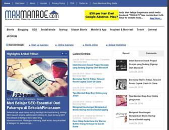 maxmanroe.com screenshot