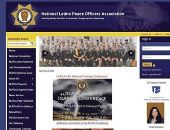 Main page screenshot of nlpoa.org