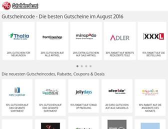 Thumbshot of Gutscheincode.org