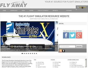 flyawaysimulation.com screenshot