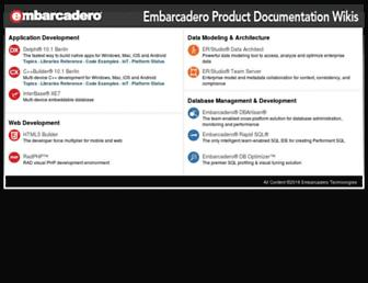 docwiki.embarcadero.com screenshot