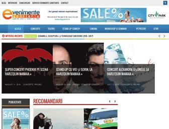 evenimente-constanta.ro screenshot