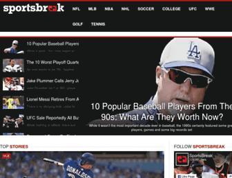 sportsbreak.com screenshot