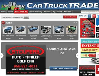 cartrucktrader.com screenshot