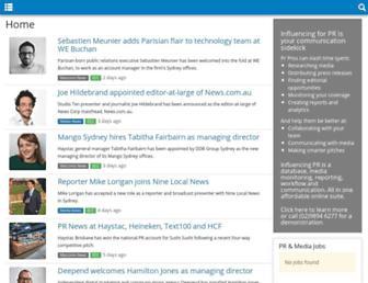 influencing.com screenshot