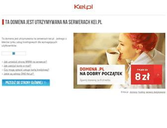 Main page screenshot of presell.der.pl