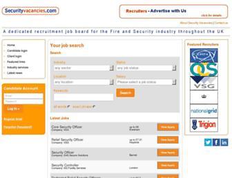 Thumbshot of Securityvacancies.com