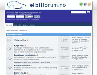 Thumbshot of Elbilforum.no