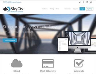skyciv.com screenshot